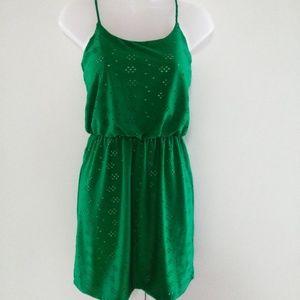 Enfocus Studio Green Dress
